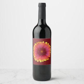 Etiqueta Para Botella De Vino Gaillardia 1