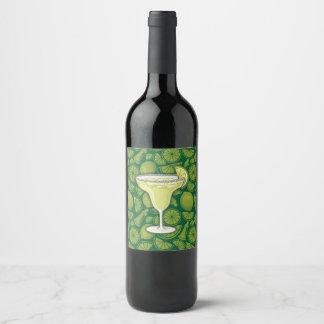 Etiqueta Para Botella De Vino Margarita