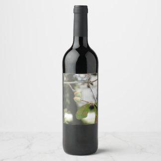 Etiqueta Para Botella De Vino Poca bellota verde