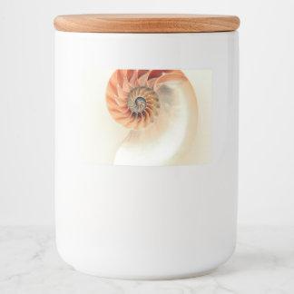 Etiqueta Para Comida Shell de la vida