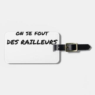 Etiqueta Para Maletas A la SNCF ÉL SE FOUT de los BROMISTAS - Juegos de