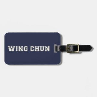 Etiqueta Para Maletas Ala Chun