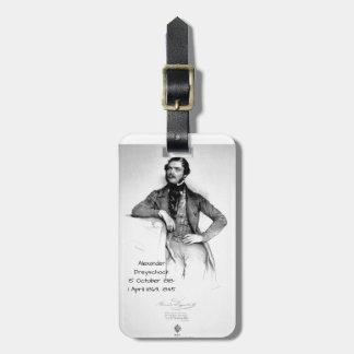 Etiqueta Para Maletas Alexander Dreyschock 1845