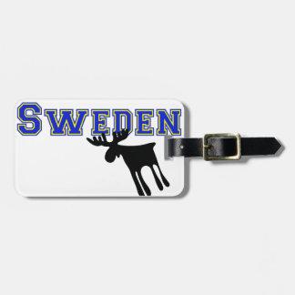 Etiqueta Para Maletas Älg / Moose, Sweden