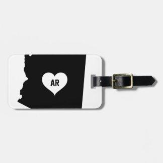 Etiqueta Para Maletas Amor de Arizona
