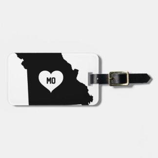 Etiqueta Para Maletas Amor de Missouri