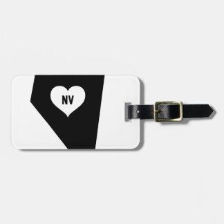 Etiqueta Para Maletas Amor de Nevada
