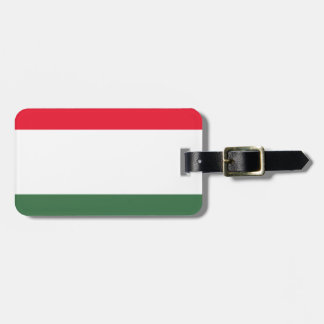Etiqueta Para Maletas ¡Bajo costo! Bandera de Hungría
