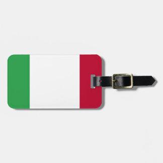 Etiqueta Para Maletas ¡Bajo costo! Bandera de Italia