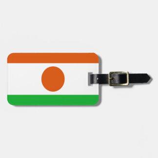 Etiqueta Para Maletas ¡Bajo costo! Bandera de Niger