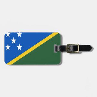 Etiqueta Para Maletas ¡Bajo costo! Bandera de Solomon Island