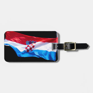 Etiqueta Para Maletas Bandera croata