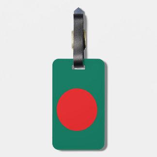 Etiqueta Para Maletas Bandera de Bangladesh