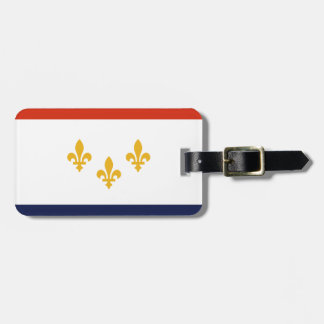 Etiqueta Para Maletas Bandera de New Orleans, Luisiana