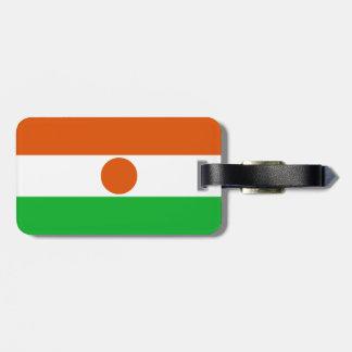 Etiqueta Para Maletas Bandera de Niger
