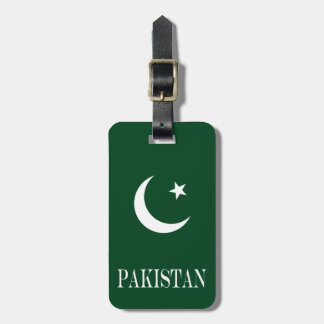 Etiqueta Para Maletas Bandera de Paquistán