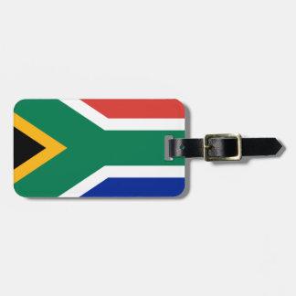 Etiqueta Para Maletas Bandera de Suráfrica - Vlag van Suid-Afrika