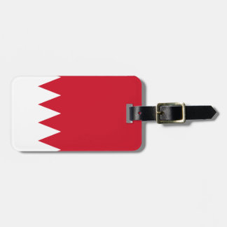 Etiqueta Para Maletas Bandera nacional del mundo de Bahrein