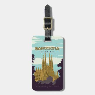 Etiqueta Para Maletas Barcelona, España - Sagrada Familia