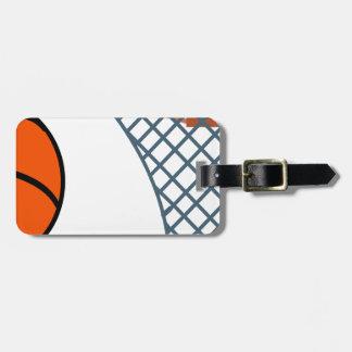 Etiqueta Para Maletas Basketball2