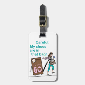 Etiqueta Para Maletas Bolso del zapato