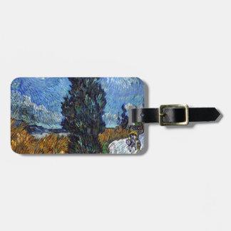 Etiqueta Para Maletas Carretera nacional de Vincent van Gogh en Provence