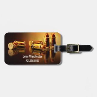 Etiqueta Para Maletas Cartidges de oro personalizado