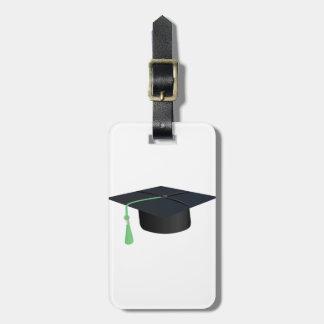 Etiqueta Para Maletas Casquillo de la graduación