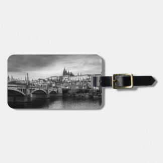 Etiqueta Para Maletas Castillo de Praga