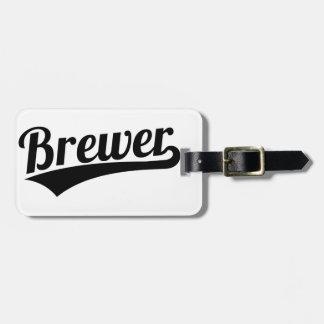 Etiqueta Para Maletas Cervecero