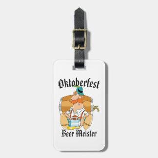 Etiqueta Para Maletas Cerveza Meister de Oktoberfest