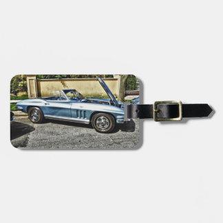 Etiqueta Para Maletas Chevrolet Corvette 1966