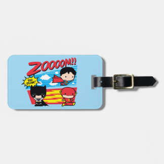 Etiqueta Para Maletas ¡Chibi Batman demasiado lento!
