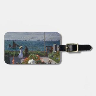 Etiqueta Para Maletas Claude Monet - el jardín en el arte de Sainte