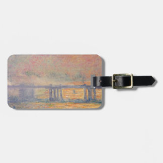 Etiqueta Para Maletas Claude Monet - Saint Louis del puente cruzado de