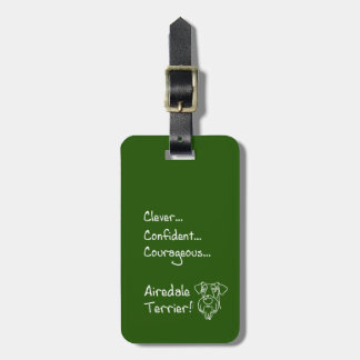 Etiqueta Para Maletas Clever Airedale Terrier