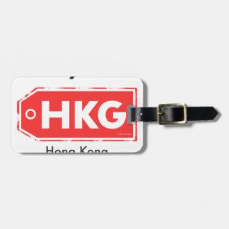 Etiqueta Para Maletas Código del aeropuerto de Hong Kong HKG