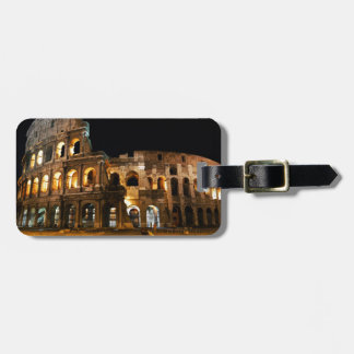 Etiqueta Para Maletas Coliseo romano