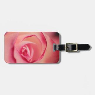 Etiqueta Para Maletas Color de rosa rosado