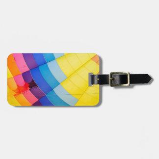 Etiqueta Para Maletas Colorido abstracto