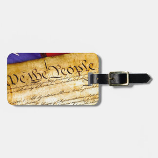 Etiqueta Para Maletas Constitución 4ta julio de la independencia del 4