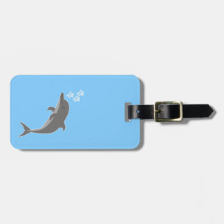 Etiqueta Para Maletas Delfín