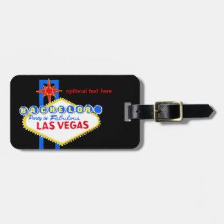 Etiqueta Para Maletas Despedida de soltero Las Vegas Nevada