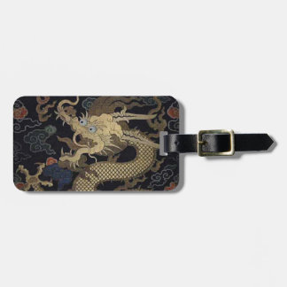 Etiqueta Para Maletas Dragón chino