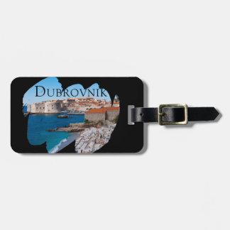Etiqueta Para Maletas Dubrovnik con una visión