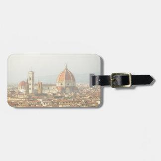 Etiqueta Para Maletas Duomo de Florencia o de Firenze Italia