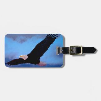 Etiqueta Para Maletas Eagle en vuelo
