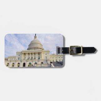 Etiqueta Para Maletas Edificio de Capitol Hill en Washington DC