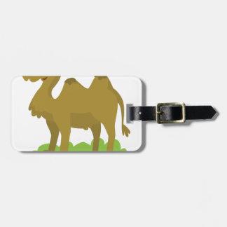 Etiqueta Para Maletas el caminar del camello alto