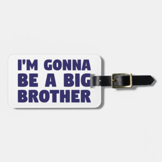 Etiqueta Para Maletas El ir a ser un hermano mayor